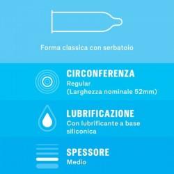 SETTEBELLO CLASSICO DUREX CONDOMS 6 UNITS