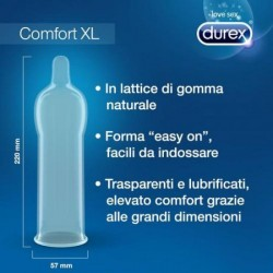 COMFORT XL DUREX CONDOMS 6 UNITS