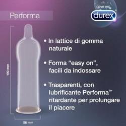 PERFORMA DUREX CONDOMS 6 UNITS
