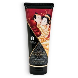 SHUNGA MASSAGE CREAM SPARKLING STRAWBERRY WINE