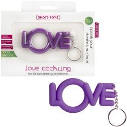 LOVE COCKRING PURPLE