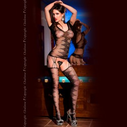 BODYSTOCKING CR-4051 BLACK