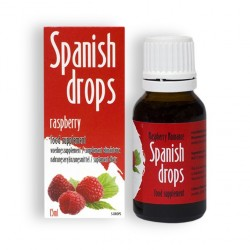 SPANISH DROPS RASPBERRY ROMANCE DROPS 15ML
