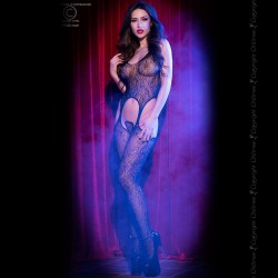 BODYSTOCKING CR-4055 BLACK