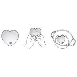 HOT HEART MASSAGER MEDIUM PINK