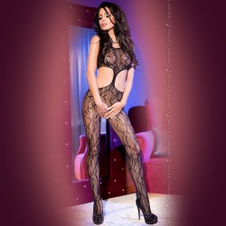 BODYSTOCKING CR-4091 BLACK