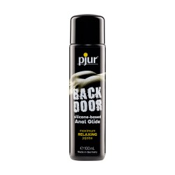 PJUR BACK DOOR RELAXING ANAL GLIDE SILICONE BASED LUBRICANT 100ML