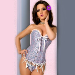 CORSET AND THONG CR-3058