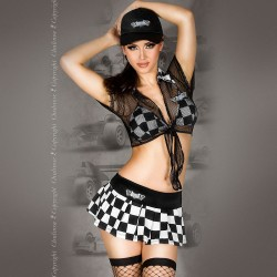 RACING GIRL COSTUME CR-3326
