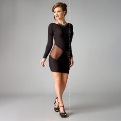 DRESS SOPHIA BLACK