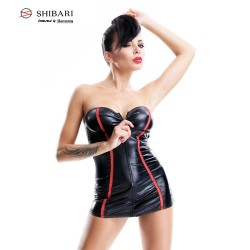 DEMONIQ DRESS YUKIKO SHIBARI BLACK