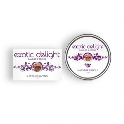 EXOTIC DELIGHT MASSAGE CANDLE 150GR