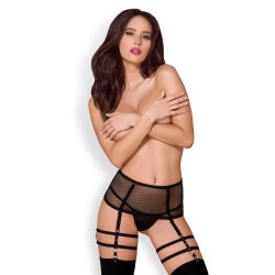 OBSESSIVE 858-GAR GARTER BELT AND THONG