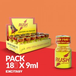 PACK CON 18 RUSH PWD 9ML