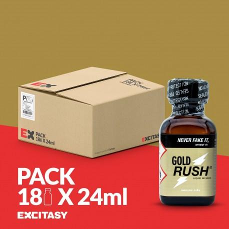 PACK COM 18 GOLD RUSH 24ML