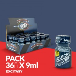 PACK WITH 36 PWD QUICKSILVER 9ML