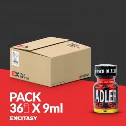 PACK COM 36 ADLER POPPERS 9ML