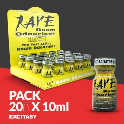 PACK WITH 20 RAVE 10ML