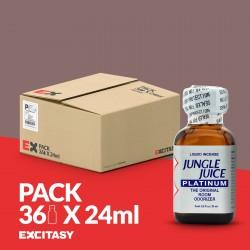 PACK COM 36 JUNGLE JUICE PLATINUM 24ML