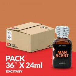 PACK COM 36 MAN SCENT 24ML