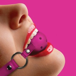 OUCH! BALL GAG PINK