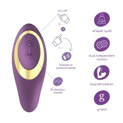 MOANSTAR RECHARGEABLE STIMULATOR CRUSHIOUS
