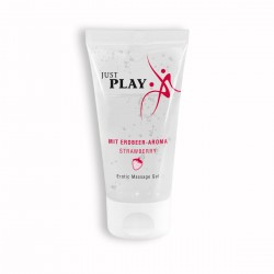 JUST PLAY STRAWBERRY WATER BASED LUBRICANT 50ML
