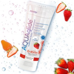 AQUAGLIDE STRAWBERRY LUBRICANT 100ML