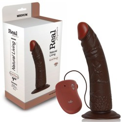 REAL RAPTURE EARTH FLAVOUR REALISTIC VIBRATOR 7'' BLACK