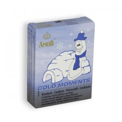 COLD MOMENTS CONDOMS 3 UNITS