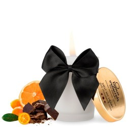 MELT MY HEART KISSABLE CANDLE BIJOUX INDISCRETS DARK CHOCOLATE AND CITRUS 70ML