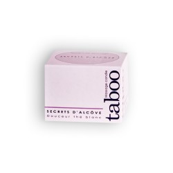 TABOO MASSAGE CANDLE WHITE TEA 160GR